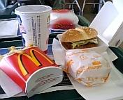 ハンバーガー百番勝負第弍番